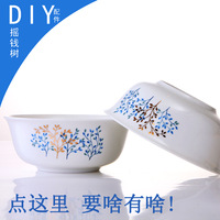 Tableware configuration diy configuration bowl rice bowl plate combination