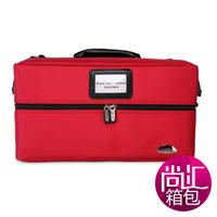 Sunrise professional multi-layer red portable cosmetics wb-18r