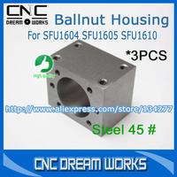 Шарико-винтовая пара CDW 1 SFU1204 BallScrew 500 + 1204 BallNut + 1 D20L25 6.35x8mm Z0102 SFU1204 Ballscrew Set