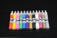 1 SET 12 Colors 3D Paint Pen UV Gel Acrylic Nail Art Polish Nail Art Pen