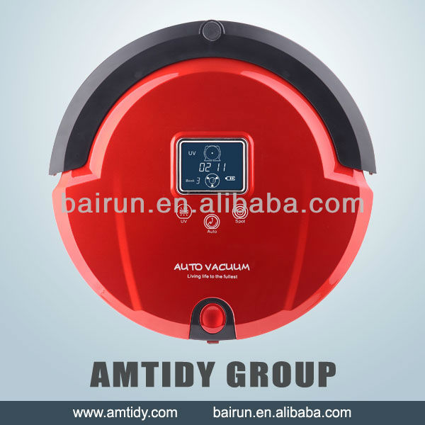 Latest robotic vacuum cleaner,Malfunction Prompt vacuum robot cleaner OEM(China (Mainland))