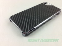 DHL free shipping*100pcs/lot* New Arrive Newest Deluxe Carbon Fiber Hard Back Cover Shell Skin Case For iPhone 5 5G