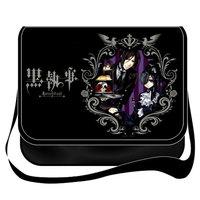 Anime Black Butler Kuroshitsuji cosplay canvas bags shoulder messenger bag