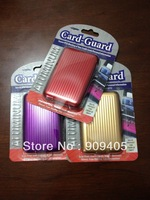 fedex Free shipping!! 1500 pcs/lot Aluma Wallet ,8 colors available wholesale Aluminium Wallet As Seen On TV Credit Card Holder