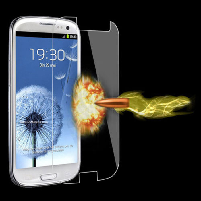 New High Quality Tempered Glass Film Screen Protector for Samsung Galaxy S3 I9300 Tonsee(China (Mainland))