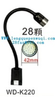 Gooseneck Hose 2W Led Lamp Switch on/off Products  LG-K220  9V-48V 14x480mm