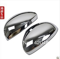 Free shipping/ Volkswagen Tiguan rearview mirror cover/ Astern mirror cover High Quality ABS Plating Rearview mirror cover2010