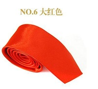 Neutral  adult fashion quality tie red color