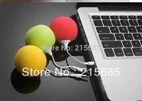 Fashion Hotsell Multi-Color Creative Mini Music Balloon Speaker Cute Music Ball for MP3 MP4 Cell Phone ipod nano