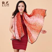 Free shipping 2013 design long silk scarf ultra long women's sunscreen air conditioning dual cape 073