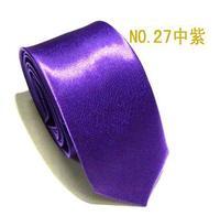 Neutral  adult fashion quality tie middle purple color