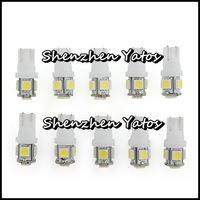 20pcs T10 Car 5 LED 5050 SMD Wedge Side Light Bulb Lamp 12V W5W 194 168 501