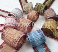 Free Shipping! New Professional High Quality Jacquard Ribbon width 3cm, Beautiful ribbon and DIY ribbons
