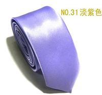 Neutral  adult fashion quality tie light purple  color