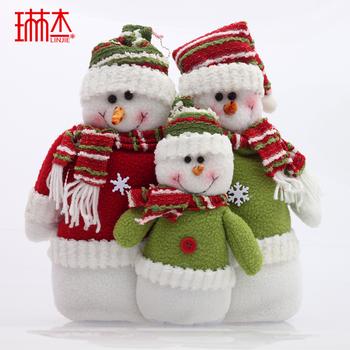 New arrival christmas tree display 30cm christmas snowman set Christmas gift  =sdZ2
