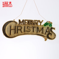 Plate christmas tree decoration christmas pendant christmas decoration christmas plate  =sdJ1