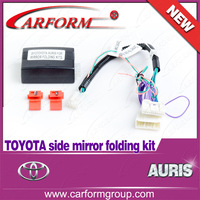 TOYOTA AURIS original Side view mirror Folding CANBUS OBD Auto Side Rear View Mirror Folding System for Turkey Free shipping