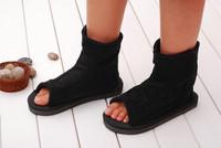 Naruto Leaf Village Ninja Cosplay Shoes Sandals Boots Costume Sasuke Gaara