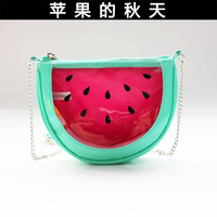 child bag messenger bag small watermelon transparent small bags women's handbag child package parent-child bag XC