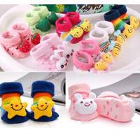 10pairs/lot Baby Socks with animal Baby Outdoor Anti-slip Walking Sock Children kid's gift