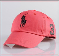 HOT new 2013 brand desinger sport Active Outdoor Sports Fit Ball Hat Unisex Cotton Washable red pink Baseball Cap for Men Women