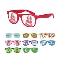 2013 Vintage Brand Unisex Promotional Advertising Custom Plain Solid Print Lenses Sunglasses BLACK LENSES+FREE SHIPPING 6234
