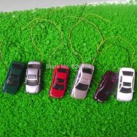 50pcs model light car 1/200 architectral model ligh car scale layout model car