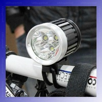 3T6 bike light 3600-Lumen 3T6 LED High Power Bicycle Light For 3*Cree XM-L T6 4-Mode LED bike light Kit