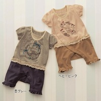 kid & baby Senshukai newborn bodysuit baby clothes 100% cotton romper bodysuit  original