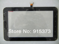 100% New Original For Samsung Galaxy TAB P1000 Digitizer Touch Screen Replacement Black Color;  HK Post Free 3pcs/lot