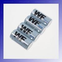 WF CR123A 3V Lithium Battery, 4pieces/pack, (DO NOT RECHARGE) + FREE SHIPPING