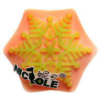 (1pc/lot) Free shipping DIY silicone molds for cake jelly dessert chocolate mold petals soap candle mould Christmas snowflake