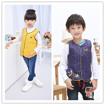 Boy Girl 2013 New Style Winter Warm Down Jacket Coat Feather Garment Fashion Children Kids Clothing High Quality Clothes 5 Color