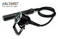 ARCHON DH30 3*CREE XM-L U2 3-Modes 3000-Lumes Diving Light(3*26650 Li-ion battery in canister)