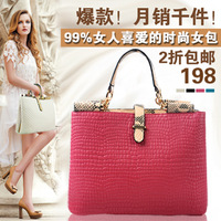 2013 autumn and winter one shoulder handbag cross-body bags female big fashion