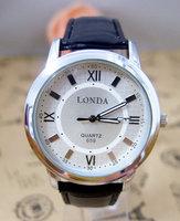 Supernova sale high quality Brand watch leather strap watches men sports wrist watch military quartz wristwatch londa-3