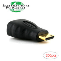 Wholesale Mini HDMI Male to HDMI Female Adapter for DV DC TABLET MP4