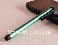 Mobile Phone Stylus Touch Pen with Clip For Capacitive Touch Screen Device for iphone ipad