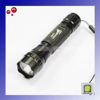 NEW!!!Ultrafire 501B Cree XM-L U3 1400 Lumen 5-Mode LED Flashlight / LED Torch / Bicycle Light +Free shipping