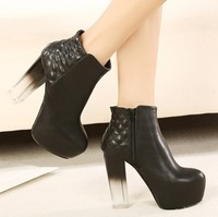 Oct- 2013 European style  woman fashion short boots/pumps female/ladies ankle knight boots/footwear/shoes free shipping