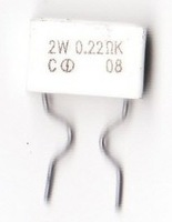 Special high power 2w advanced cement resistor 0.22r 0.22 nobility
