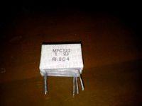 Metal plate cement resistor mpc722 1rj 7w 1