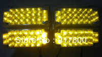 4 x 22 LED Car Truck Boat 3mode Strobe Lights Amber