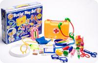 Free shipping docotor toy set child medicine box child toy doctor box set doctor play set toy  28pcs per set