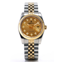 Baida breta watch auto mechanical watch classic mens watch waterproof goldclad watch