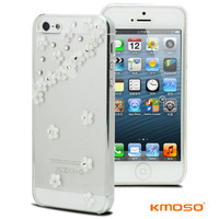 Kmosoiphone5 rhinestone transparent shell diamond phone case protective case shell ultra-thin protective case