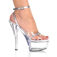 15cm high-heeled shoes platform thin heels performance shoes wedding shoes ruslana korshunova crystal xie-196