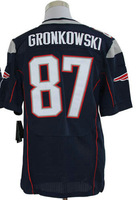 2013 New Arrival!!!American Football Elite Jersey #87 Rob Gronkowski Blue Elite Jerseys Men's Size 40-56 All Stitched(Sewn on)