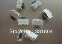 Free shipping 10 pcs 2 x4x3.5 mm  2 * 4 * 3.5 mm, touch switch SMD MP3 MP4 MP5 Tablet PC power button switch