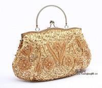 Wholesale Retail Fashion bag beaded Womens Handbag Evening bags Day Clutches bag Purse B1018